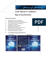 Media Kit for Anthony's Sage of Synchronicity