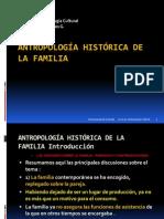 Antropología Histórica de La Familia