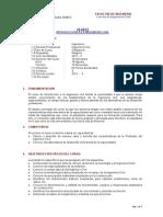 Syllabus Int.ing.Civil 2011-2