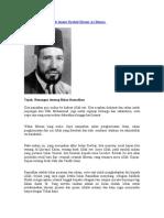 Risalah Tsulasa' Oleh Imam Syahid Hasan Al-Banna