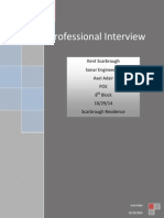 professional interview
