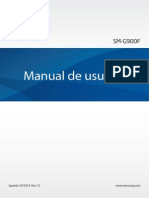 Manual Usuario Galaxy s5