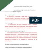 Escrito Para El Informe Oral Por..