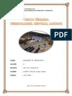 Visita Tècnica Ferrocarril Central Andino