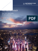 Accenture Rise of Fintech New York 2014