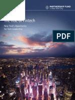 Accenture Rise of Fintech New York 2014