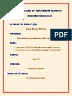 SEGUNDO PARCIAL REPORTE ANUAL DE LA WTTC LIZZET ZÁRATE MÉNDEZ 901-C
