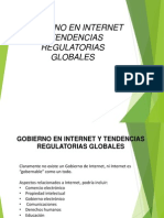 189833751 5 6 Gobierno en Internet y Tendencias Regulatorias Globales Pptx