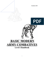 US Army Combatives Level 1 Manual