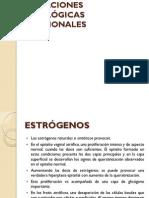 VARIACIONES CITOLÓGICAS HORMONALES