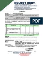 Cotizacion Alquiler de 01 Impresora Laser -Modelo