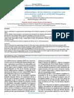 Comportamiento Epidemiológico de Los DC Más Frecuentes Del SNC en El HECAM 2004-2013