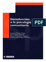 AutoresVarios Introduccion a La Psicologia Comunitaria
