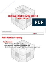 CCSv4Training-GettingStartedWithHelloWorld