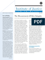 The Measurement of Police Integrity