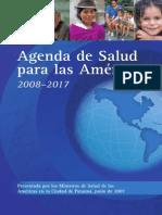 Agenda Salud Para Las Americas 2008 2017 OPS