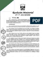 RM-N°-398-2014-MINAM lineamientos