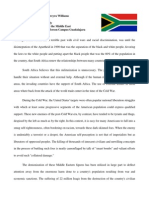 south africa position in militarization in the middle east