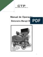 Manual de Operação Betoneira 600 CTP PB