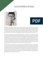 Biografi Pahlawan Pendidikan Ki Hajar Dewantara