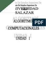 Algoritmos Computacionales de Los Problemas a Los Programas