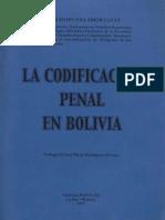 LA CODIFICACION PENAL EN BOLIVIA - Fernando Villamor.pdf