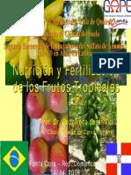 Nutricióónny y Fertilizacion Frutos Tropicales