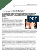 """Página_12 __ Psicología __ """"Me Estás Haciendo Bullying"""""""
