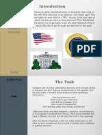 webquest presidents