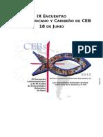 IX Latino CEBs
