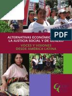 Alternativas Económicas Para La Justicia Social y de Género.