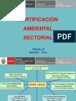 CERTIFICACION SECTORIAL