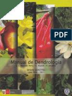 Manual de Dendrología