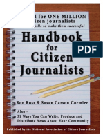 Handbook for Citizen Journalists