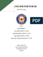 Akuntansi Sektor Publik Kelompok 3