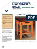 Craftsman End Table 2
