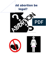 Final Why Abortion Should Be Legal.........