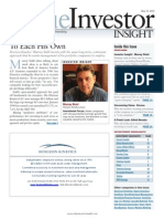 Value Investor Insight - May 31, 2013