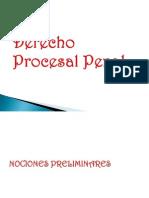 1° Clase Derecho Procesal Penal