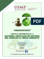 Cartilla Informativa II Medio Ambiente
