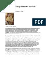 Merancang Manajemen SDM Berbasis Kompetensi Nava Urba 5