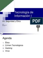 seguridad y etica en informatica