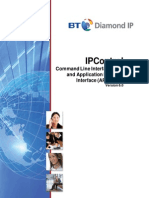 IPControl CLI API Guide