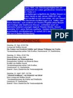 Chronik der Aktivitäten des Kulturschaffenden Steffen Gresch in Zusammenarbeit mit dem KuBe e.V. Saarbrücken im Zeitraum 2005-2011.