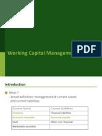 Working Capital Management MM UIA 2014