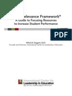 Rigor Relevance Framework 2014