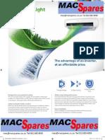 MS Samsung Inverter Light Airconditioner