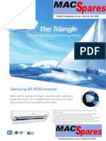 MS Samsung Ar9000 Inverter Airconditioning