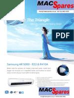 MS Samsung Ar5000 Non Inverter Airconditioner