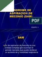 Sindrome de Aspiracion de Meconio (Sam)